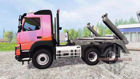Volvo FMX [container truck] v1.2 для Farming Simulator 2015