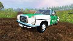 Mercedes-Benz 200D (W115) 1973 Police