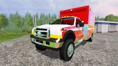 Ford F-350 [fire department]