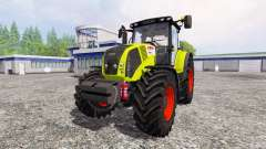 CLAAS Axion 850 [weight]