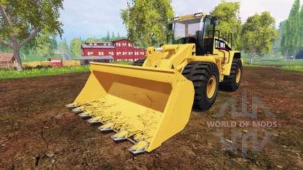 Caterpillar 980H для Farming Simulator 2015