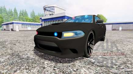 Dodge Carger Hellcat 2015 Undercover для Farming Simulator 2015