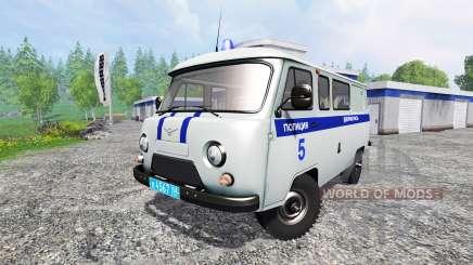 УАЗ-3909 Полиция для Farming Simulator 2015