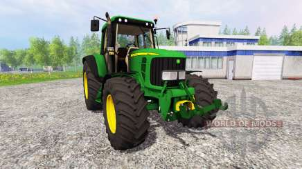 John Deere 6320 Premium для Farming Simulator 2015