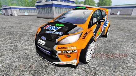 Ford Fiesta WRC для Farming Simulator 2015
