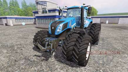 New Holland T8.435 v4.0.3 для Farming Simulator 2015