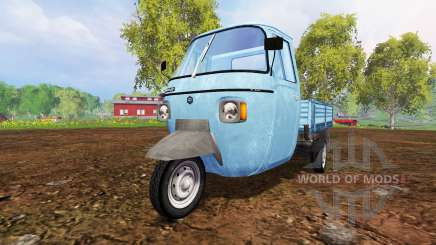 Piaggio Ape P601 для Farming Simulator 2015