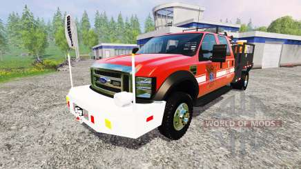 Ford F-450 [feuerwehr] для Farming Simulator 2015