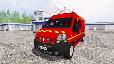 Renault Master [sapeurs-pompiers] v2.0 для Farming Simulator 2015