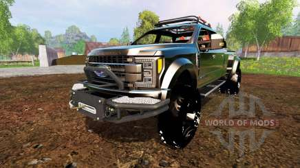 Ford F-450 2017 [custom] для Farming Simulator 2015