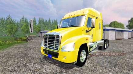 Freightliner Cascadia для Farming Simulator 2015