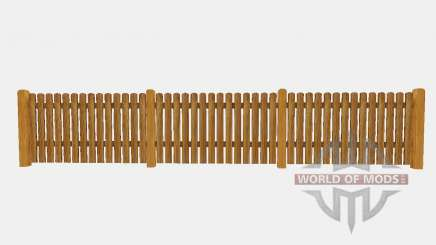 Wooden fence для Farming Simulator 2015