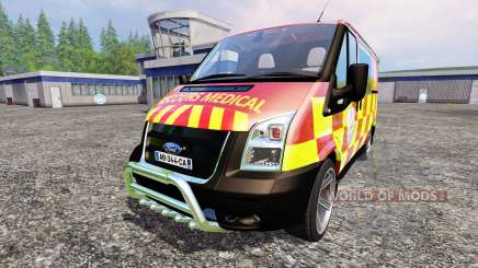 Ford Transit [secours medical] для Farming Simulator 2015