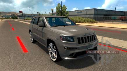 Jeep Grand Cherokee SRT8 для American Truck Simulator