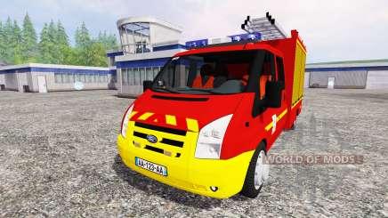 Ford Transit [sapeurs pompiers] для Farming Simulator 2015