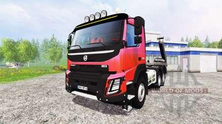 Volvo FMX [container truck] v1.2 для Farming Simulator 2015