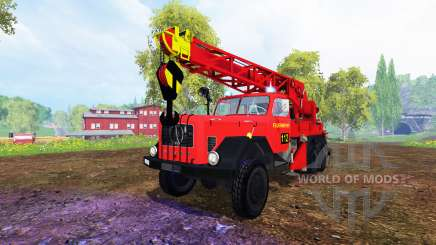 Magirus-Deutz 200D26A [firemen truck crane] для Farming Simulator 2015