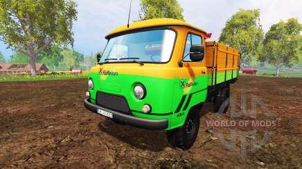 УАЗ-452Д [Raiffeisen] для Farming Simulator 2015