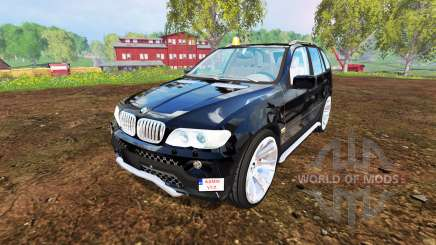 BMW X5 2004 для Farming Simulator 2015