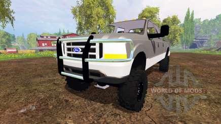 Ford F-250 v1.2 для Farming Simulator 2015