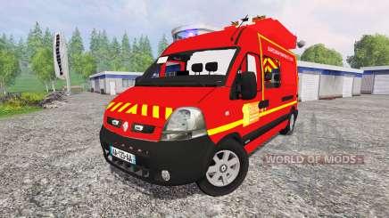 Renault Master [sapeurs-pompiers] SDIS60 для Farming Simulator 2015
