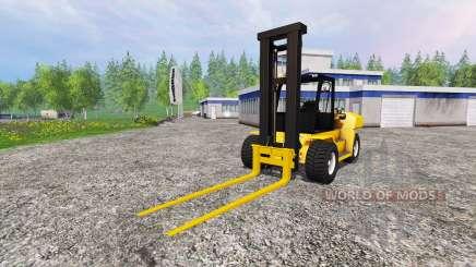 Komatsu EX50 для Farming Simulator 2015