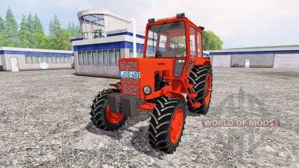 МТЗ-82 [красный] v2.0 для Farming Simulator 2015