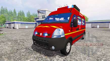 Renault Master [sapeurs-pompiers] для Farming Simulator 2015