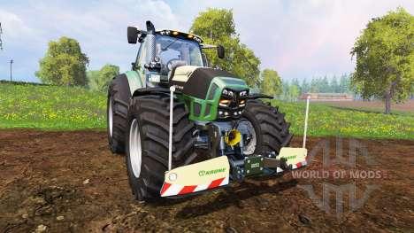 Deutz-Fahr Agrotron 7250 Warrior v8.0 для Farming Simulator 2015