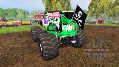 Grave Digger для Farming Simulator 2015