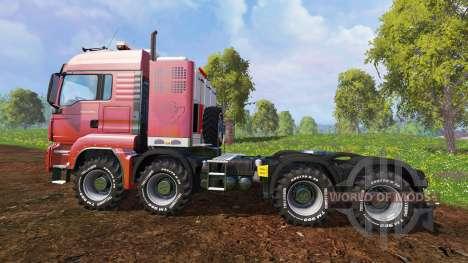 MAN TGS 41.570 8x8 Agrar v2.0 для Farming Simulator 2015