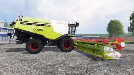 CLAAS Lexion 780 v1.2 для Farming Simulator 2015