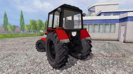 МТЗ-82.1 v2.0 для Farming Simulator 2015