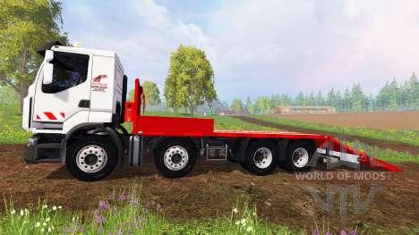 Renault Lander [plateau] для Farming Simulator 2015