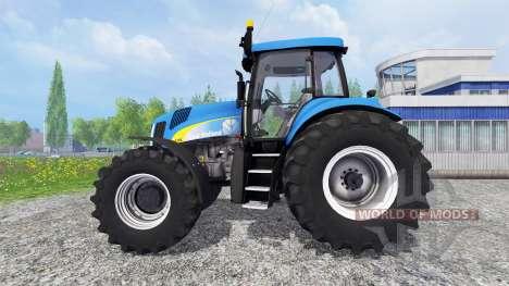 New Holland TG 285 для Farming Simulator 2015