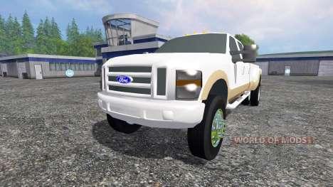 Ford F-350 2009 King Ranch для Farming Simulator 2015