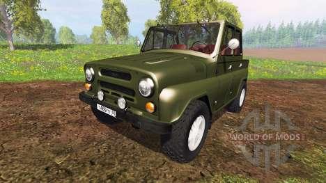 УАЗ-469 v1.0 для Farming Simulator 2015