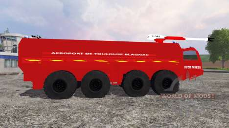 VMA Sapeur Pompiers v2.0 для Farming Simulator 2015