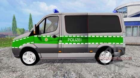 Volkswagen Crafter Bavaria Police для Farming Simulator 2015