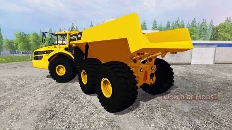 Volvo A40G 2014 для Farming Simulator 2015