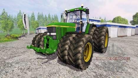 John Deere 7810 v2.1 для Farming Simulator 2015