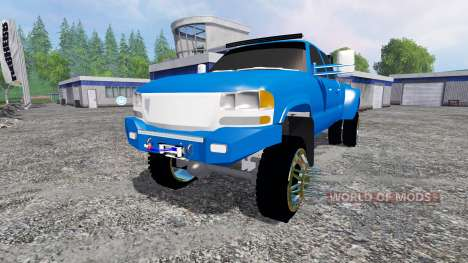 GMC Sierra 3500 2006 v3.0 для Farming Simulator 2015