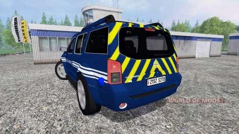Nissan Pathfinder Gendarmerie для Farming Simulator 2015