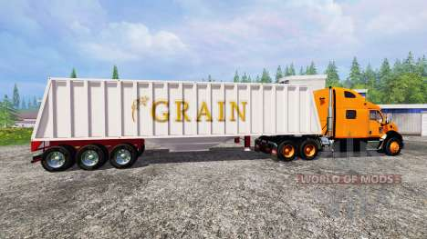 Peterbilt 387 [roadtrain] для Farming Simulator 2015