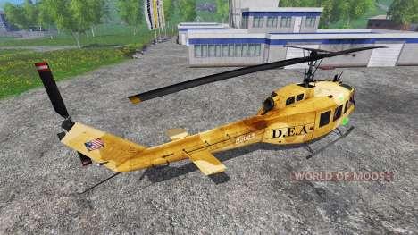 Bell UH-1 Iroquois для Farming Simulator 2015