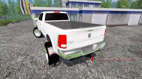 Dodge Ram 3500 2015 Crew Cab для Farming Simulator 2015