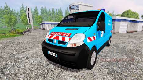 Renault Trafic [urgence gaz] v2.0 для Farming Simulator 2015