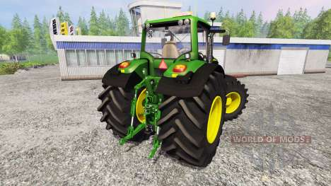 John Deere 6170M v1.0 для Farming Simulator 2015