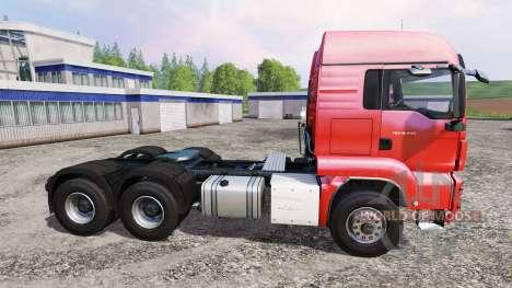 MAN TGS 18.440 6x4 для Farming Simulator 2015
