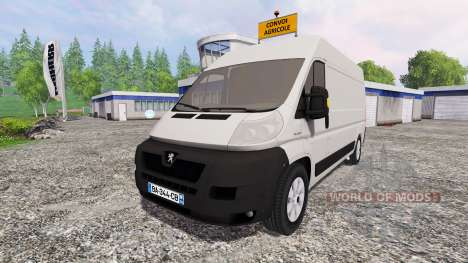 Peugeot Boxer для Farming Simulator 2015